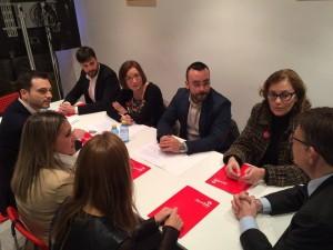 Reunió amb candidats a l'alcaldia